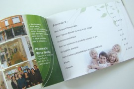 Mise en page, brochure 16 pages